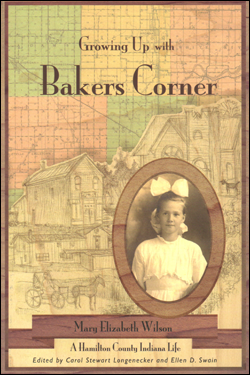 Book cover of Growing Up with Bakers Corner.