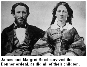 Donner Party survivors.