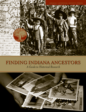 Finding Indiana Ancestors book cover.
