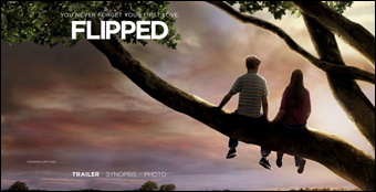 Flipped movie image.