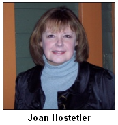 Joan Hostetler, 2009.