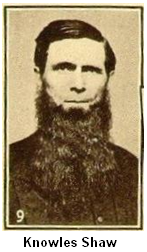 "Knowles Shaw, evangelical preacher and composer of ""Bringing in the Sheaves""."