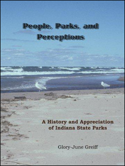 Book cover of People, Parks and Perceptions by Glory-June Greiff.
