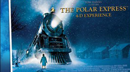 The Polar Express - movie poster.