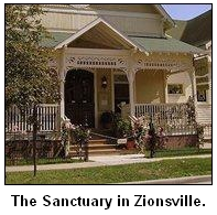The Sanctuary in Zionsville, Ind.
