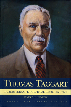Book cover, Thomas Taggart.