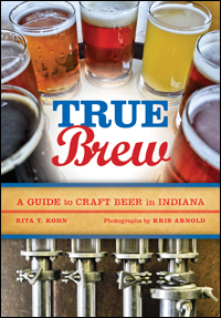 "Book cover for ""True Brew"" by Rita Kohn."