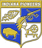 Indiana Pioneers logo.